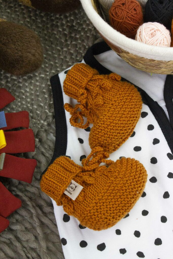 Knits for a baby on the way