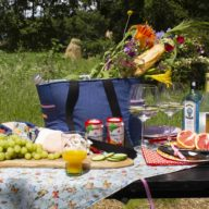 Picknicken in de natuur